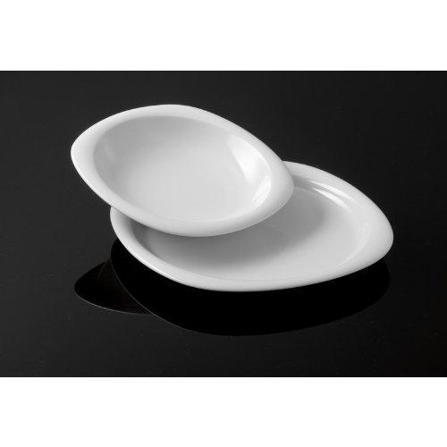 Rosenthal - Suomi Tafelset 12-TLG. Weiß - 6 Speiseteller / 6 Suppenteller