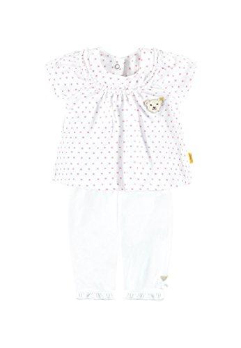 Steiff Collection Mädchen, Bekleidungsset, Set 2tlg. T-Shirt 1/8 Arm + Caprieg, Mehrfarbig (allover 0003), 74