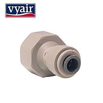 John Guest 15 mm (1/2 Zoll) BSP x 1/4 Zoll Push Fit Wasserhahn-Adapter