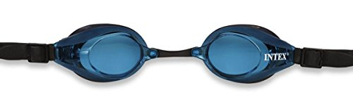 Intex Chlorbrille Racing Anti Fog 3 Farben Phthalates Free, 55691 (Goggles Pro Racing)