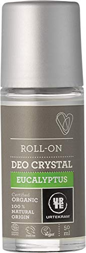 Natürliche Mineralsalze Genießen (Urtekram Eukalyptus Kristall-Deo Bio, Roll-On, 50ml)