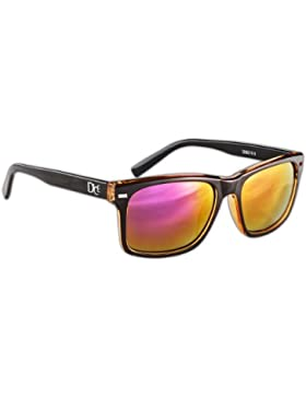 Dice - Gafas de sol multicolor Shiny Black/Transparent White Talla:talla única