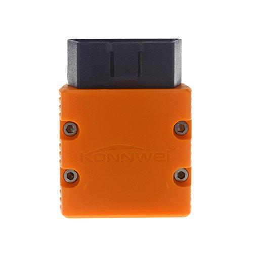 Preisvergleich Produktbild KW902 WiFi ELM327 Auto OBD2 Code Reader Scanner Mini ELM327 KW902 WiFi Diagnostic Scan Tool für iOS / Android / iphone … (orange)