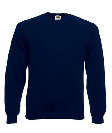 Fruit of the Loom Unisex Kids Raglan Premium Sweater