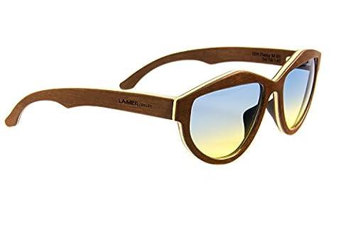 LAiMER Holzbrille DAISY | 100% Einheimische Hölzer | natürlich, nachhaltig