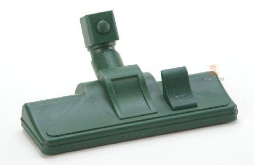 DREHFLEX - umschaltbare Bodendüse für Vorwerk mit Rad / mit Wappenanschluss / passend für Kobold 118, 119, 120, 121, 122 und Tiger 250, 252 - alternativ