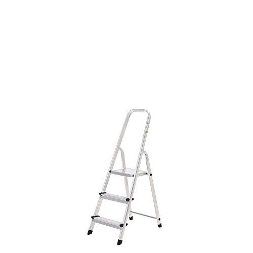 Oryx 23010001 Escalera Aluminio 3 Peldaños Doméstica