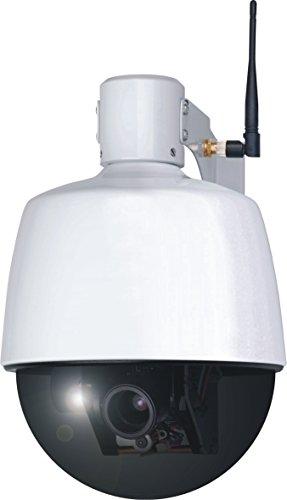 ELRO C904IP.2 Plug und Play WIFI Netzwerk PTZ Dome Kamera mit optischem...