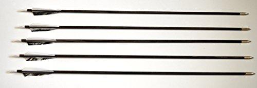 5 Stk Holzpfeile Pfeile aus Kiefernholz 5/16, 30 - 40 lbs