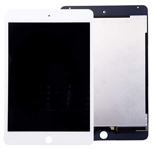 Komplett Displayeinheit Display für Apple iPad Mini 4 7.9 LCD Touch Screen Digitizer Ersatzteil Reparatur Zubehör Weiß (Ipad 4 Ersatz-bildschirm)