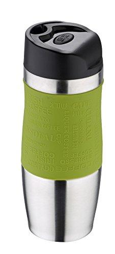 Bergner q1417Travel-Thermos da viaggio, 21cm, colore: verde