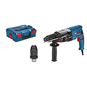 31iAadHTOXL. SS300  - Bosch Professional GBH 2-28 F - Martillo perforador (3,2 J, máx. hormigón 28 mm, portabrocas SDS plus + cilíndrico, en L-BOXX)