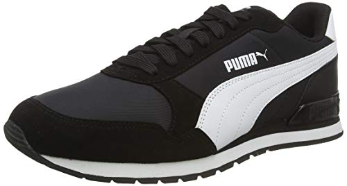 Puma ST Runner v2 NL, Zapatillas de Cross Unisex Adulto, Black White, 41 EU