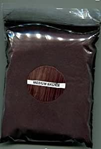 Hair Building Fibers Medium Brown 50 Grams. Highest Grade Refill That You Can Use for Your Bottles from Competitors Like Toppik®, Xfusion®, Miracle Hair® Made In The USA not China!