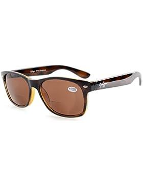 Eyekepper Clásico Bifocales Gafas de Sol Hombre (Lentes marrón, 3.00)