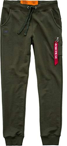 Alpha Industries Sweatpants X-Fit Slim Cargo, Größe:L, Farbe:dark green