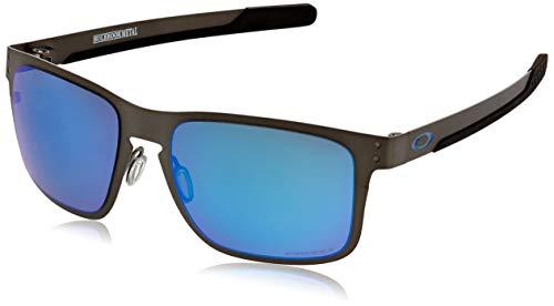 Oakley Herren 0OO4123 Sonnenbrille, Braun (Matte Gunmetal), 55