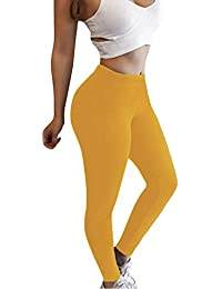 ShallGood Mujer Leggins Push up Pantalones Deportivos Largos para Training  Running Yoga Fitness Transpirables con Cintura 221d122dd6614