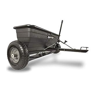 Agri-Fab AG45-0288 42-inch Tow Behind Drop Spreader - Black