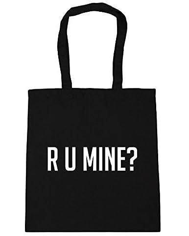 HippoWarehouse R U mine? Tote Shopping Gym Beach Bag 42cm x38cm, 10 litres