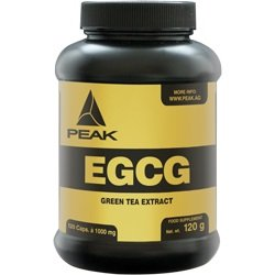 #Peak – EGCG – Grüntee Extrakt – 120 Kapseln#