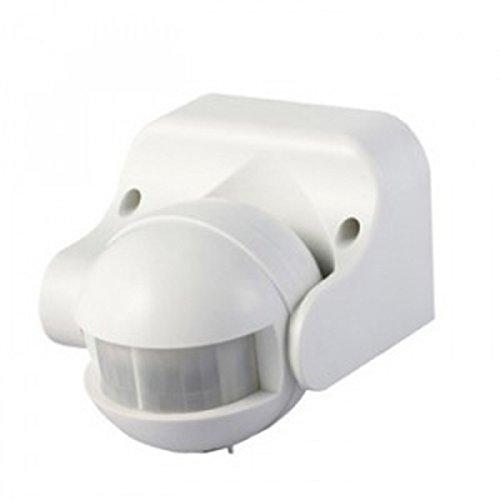 Détecteur De Présence Orientable Ip44 Noir Vt-8003 V-TAC