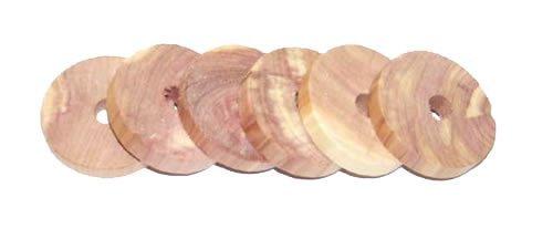 H L Russel & anneaux en bois de cèdre