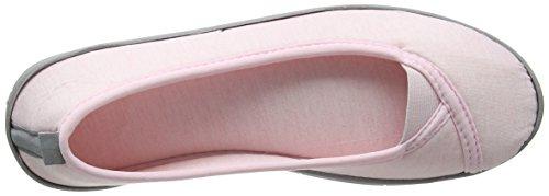 Dearfoams Ballerina, Chaussons femme Pink (Fresh Pink)