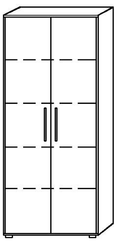 Schrank Buche – Flügeltürenschrank - 3
