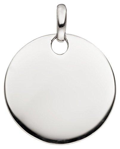 Laimons Damen-Anhänger Gravurplatte glanz Sterling Silber 925