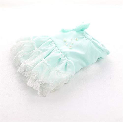 Puppy Kleidung für kleine Hunde Mädchen Super Fairy Pearl Prinzessin Kleid Herbst und Winter Bow Coat geeignet für kleine Hunde und ()