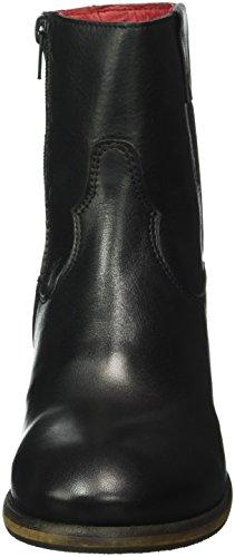 Buffalo Damen Es 30842 Garda Kurzschaft Stiefel Schwarz (PRETO 01)
