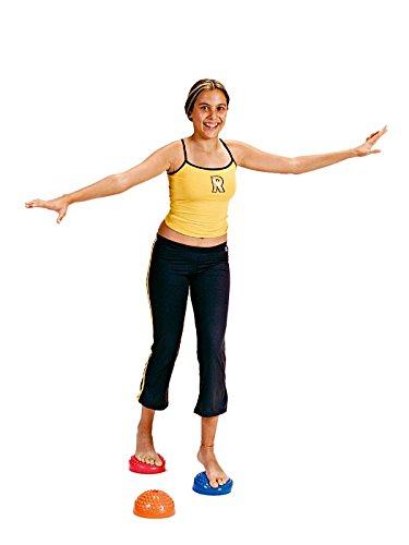 Balancetrainer Multiactiv Stone, 6 St. , Igelrücken Balance Kugel, Balancekugel, Gleichgewicht, GYMNIC