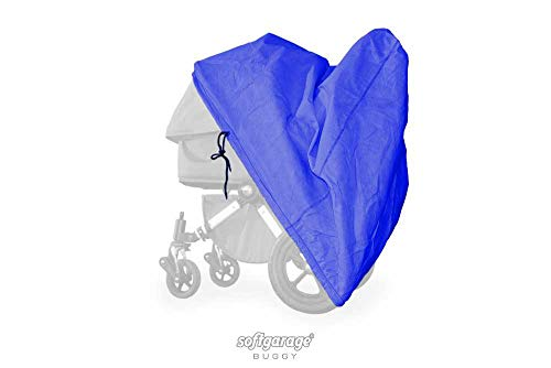 softgarage buggy softcush blau Abdeckung für Kinderwagen Safety 1st Ideal Sportive Regenschutz Regenverdeck