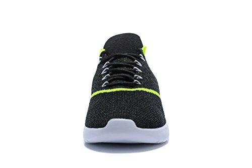 Kenswalk Scarpe da corsa uomo Black Green