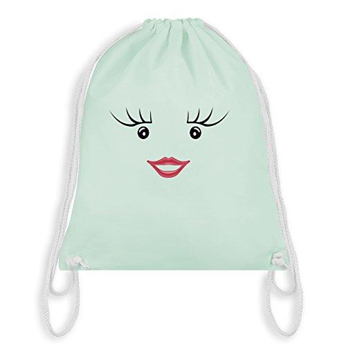 (Karneval & Fasching - Partner-Kostüm Milch und Schokolade Sie - Unisize - Pastell Grün - WM110 - Turnbeutel & Gym Bag)