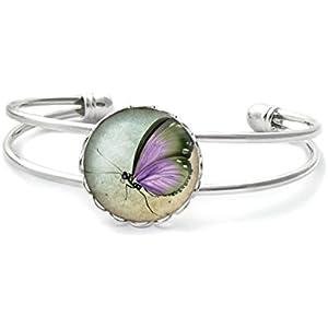Armband mit cabochon, Schmetterling
