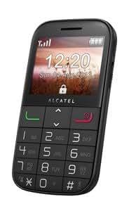 Alcatel OneTouch 2000x Téléphone portable écran TFT 6,1cm (2,4), MP3(Noir)