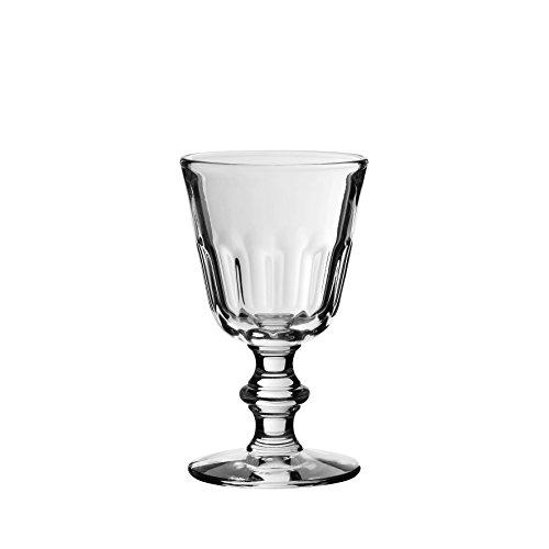 Côté Table 17195 Perigord Verre à Vin avec Pied Transparent 19 cl 8 x 8 x 14 cm (lot de 6)