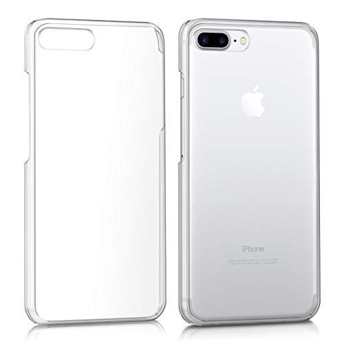 kwmobile Apple iPhone 7 Plus / 8 Plus Hülle - Handyhülle für Apple iPhone 7 Plus / 8 Plus - Handy Case in Transparent