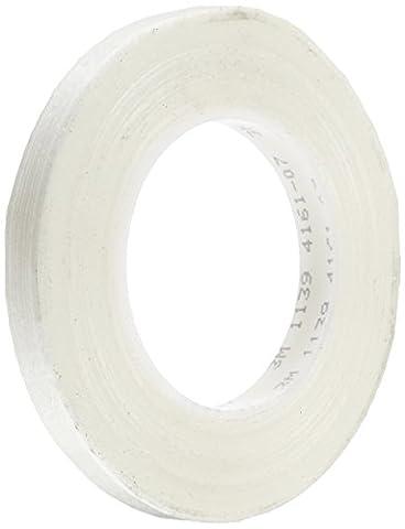 tapecase 11391,3cm x 60yd Film polyester Transparent/Verre Filament renforcé 3m ruban adhésif électrique 1139, 311°F Température de la performance, 0cm Épaisseur, 60Yd Longueur, 1,3cm Largeur