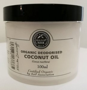 Organic Coconut Oil Deodorised (Cocus nucifera)/ Aceite de Coco Orgánico Desodorizado (Cocus nucifera) (25 litres (£10.57/litre)) by NHR Organic Oils