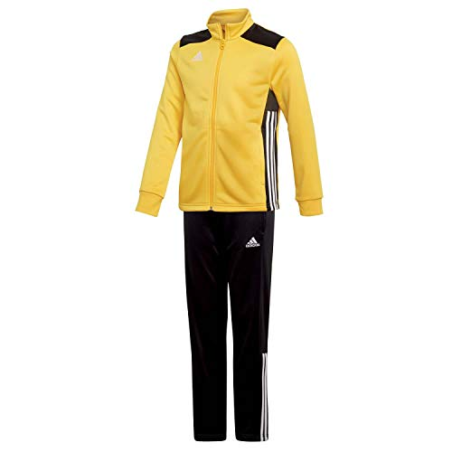 adidas Kinder Polyesteranzug Trainingsanzug Regista 18 BOGOLD/Black 140