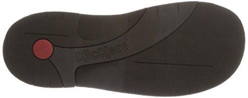 KICKERS Schuhe - Schnürschuh KICK COL - marron fonce 209034-30 - Marron (92 Marron Foncé)