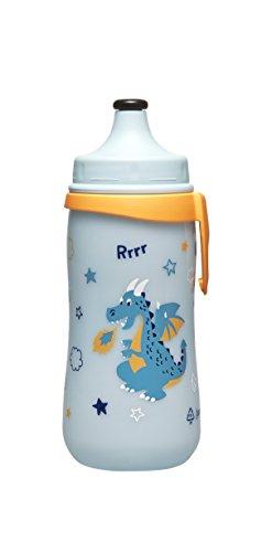 nip Kids Cup Sportflasche mit Push-Pull, 18 Monate+, 330 ml, Junge