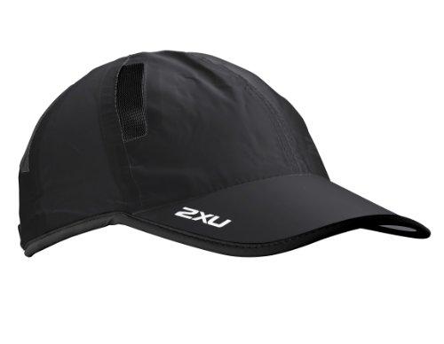 2XU Run Mütze, Schwarz, Einheitsgröße
