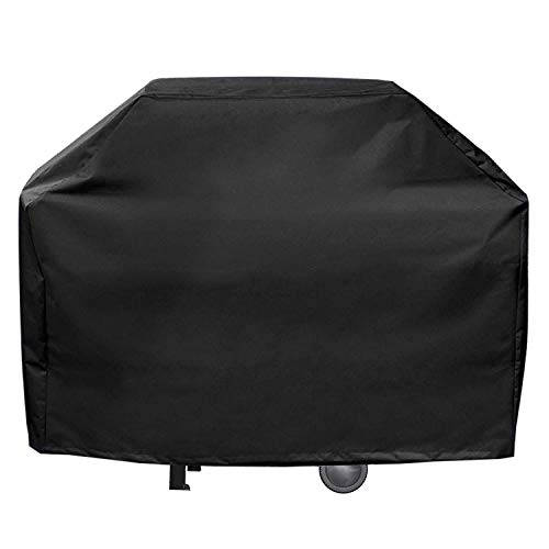 Gas-char Grill (Coogel Aolvo Gas BBQ Grill Covers Heavy Duty Waterproof 60 Inch Extra Large Grill Cover for Weber, Char Broil, Brinkmann,Holland and Jenn Air - Black (170x61x117cm))