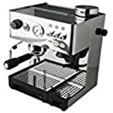 la Pavoni Domus Bar Dosata DED, Acero inoxidable, 1000 W, 230-240 V, 50Hz; 120 V, 60 Hz, 230 - Máquina de café