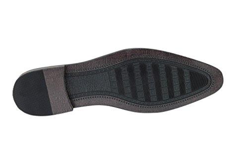 Homme Neuf noir Chaussures Smart Casual formelle robe en dentelle jusquDerby en cuir marron taille UK 67891011 Noir - noir