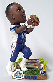 Caseys Distributing 8132908698 Dallas Cowboys Terrell Owens 2003 Pro Bowl Forever Collectibles Bobble
